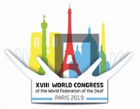 SLO: XVIII WORLD CONGRESS OF THE WORLD FEDERATION OF THE DEAF SIGN LANGUAGE RIGHTS FOR ALL