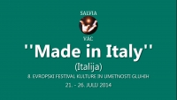 ''MADE IN ITALY'' - (ITALIJA), SALVIA - (22.7.2014)